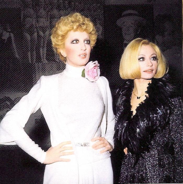 Mina e Raffaella Carrà negli anni '70